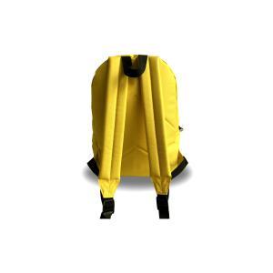 Lacocarde - PM-JAUNE-COMBI - Sac à dos petit modèle jaune - Combi (409268)