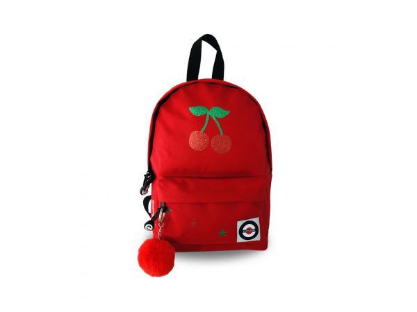 Sac à dos petit modèle rouge cerise