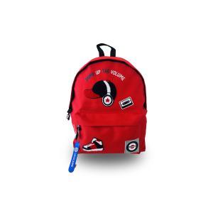 Lacocarde - GM-ROUGE-CASQUE-PUMPUP - Sac à dos grand modèle rouge casque pumpup (409288)