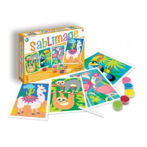 Sentosphère - 8811 - Sablimage animaux sud américains (409514)