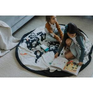 Play and Go - 30021 - Sacs de rangement Play and Go worldmap - 140 cm (409616)