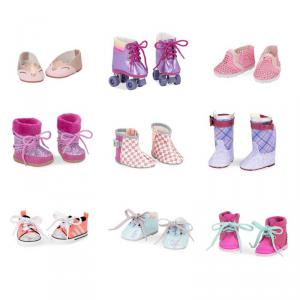 Our Generation - BD37419GTZ - Chaussures assortiment 3- 9 paires (409942)