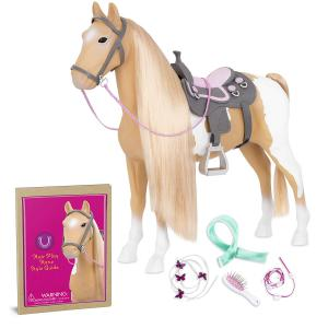 Our Generation - BD38030Z - Cheval beige et blanc de 51 cm (409954)