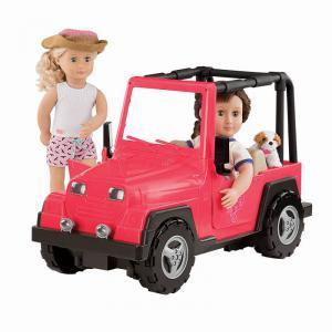 Our Generation - BD37277Z - 4x4 pour poupée - rose et noir (410014)