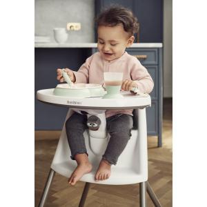 Babybjorn - 067221 - Transat Balance Soft, Bleu Gris, Coton Jersey (410242)