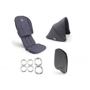 Bugaboo - 910210ST01 - Poussette Ant - Style set BLEU ACIER-BLEU ACIER (410284)