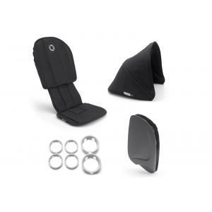 Bugaboo - 910210ZW01 - Poussette Ant - Style set NOIR-NOIR (410288)