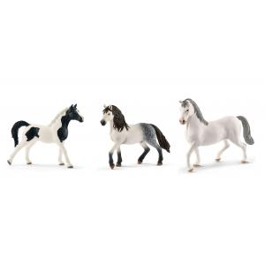 Schleich - bu009 - Figurines de chevaux Etalon (pintabian, andalou, lipizzan) (410424)