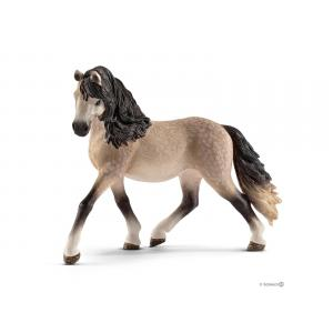 Schleich - bu011 - Figurines de chevaux Jument (andalouse, Hanovre, Pinto) (410428)