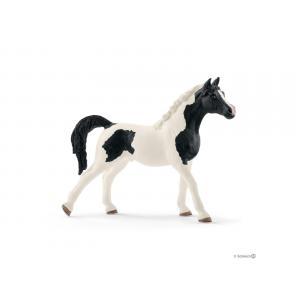 Schleich - bu019 - Figurines de chevaux (Étalon pintabian, Étalon andalou, Poulain Knabstrupper) (410444)