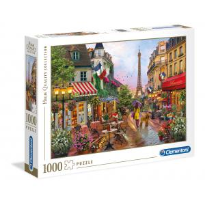 Clementoni - 39482 - Puzzle 1000 pièces  - Flowers In Paris (Cx1) (410456)
