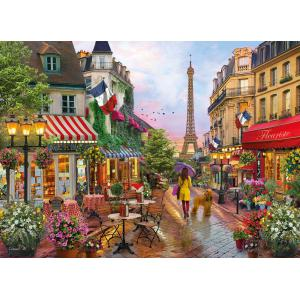 Clementoni - 39482 - Puzzle adultes 1000 Pièces - Flowers In Paris (410456)