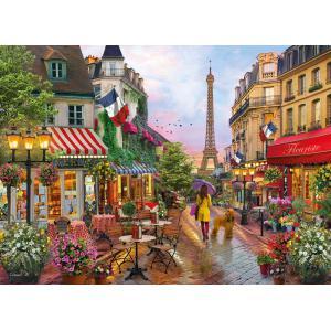 Clementoni - 39482 - Puzzle 1000 pièces - Flowers In Paris (410456)