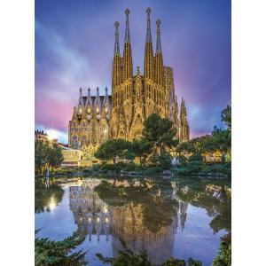 Clementoni - 35062 - Puzzle 500 pièces - Barcelona (410472)