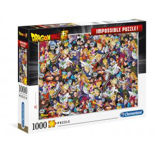 Clementoni - 39489 - Puzzle adultes Impossible Puzzle 1000 Pièces - Dragon Ball (410480)