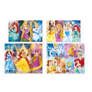 Clementoni - 07721 - Puzzle enfants 20+60+100+180 Pièces - Princess (410544)