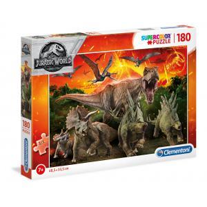 Clementoni - 29299 - Puzzle 180 pièces - Jurassic World (410578)