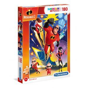 Clementoni - 29298 - Puzzle 180 pièces - Incredibles 2 (410580)
