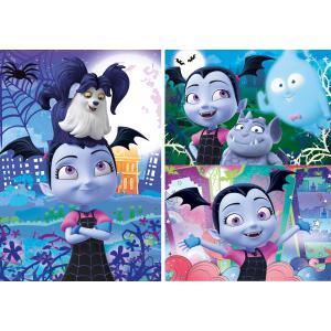 Clementoni - 25229 - Puzzle enfants 3x48 Pièces - Vampirina (410674)