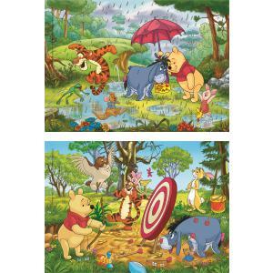 Clementoni - 24516 - Puzzle 2x20 pièces - Winnie The Pooh (410706)
