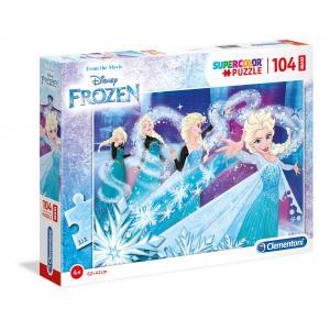Clementoni - 23729 - Puzzle 104 maxi pièces - La Reine des Neiges (410734)