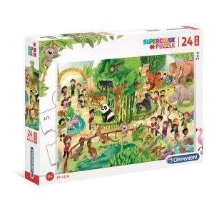 Clementoni - 28505 - Puzzle 24 Maxi pièces - Safari (Ax1) (410766)