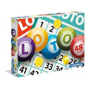 Clementoni - 52410 - Jeux de société Loto en famille (410844)
