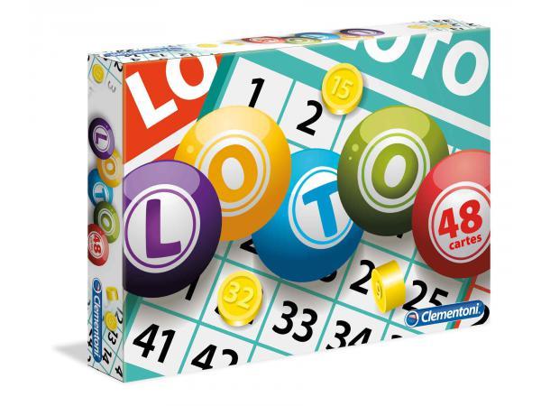 Jeux de société loto en famille