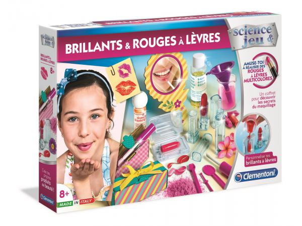 Jeux scientifique - brillants & rouges à lèvres