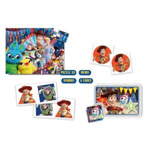 Clementoni - 18058 - Edukit 4 en 1 - Toy Story 4 (410954)
