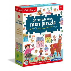 Clementoni - 52376 - Je compte avec mon puzzle - 5 ans et + (411000)