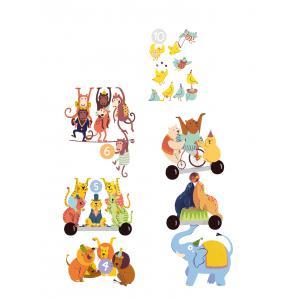Clementoni - 52363 - Compte avec les animaux - 3 ans et + (411012)