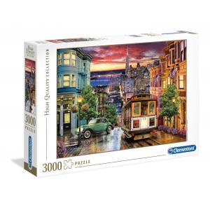 Clementoni - 33547 - Puzzle 3000 pièces - San Francisco (411084)