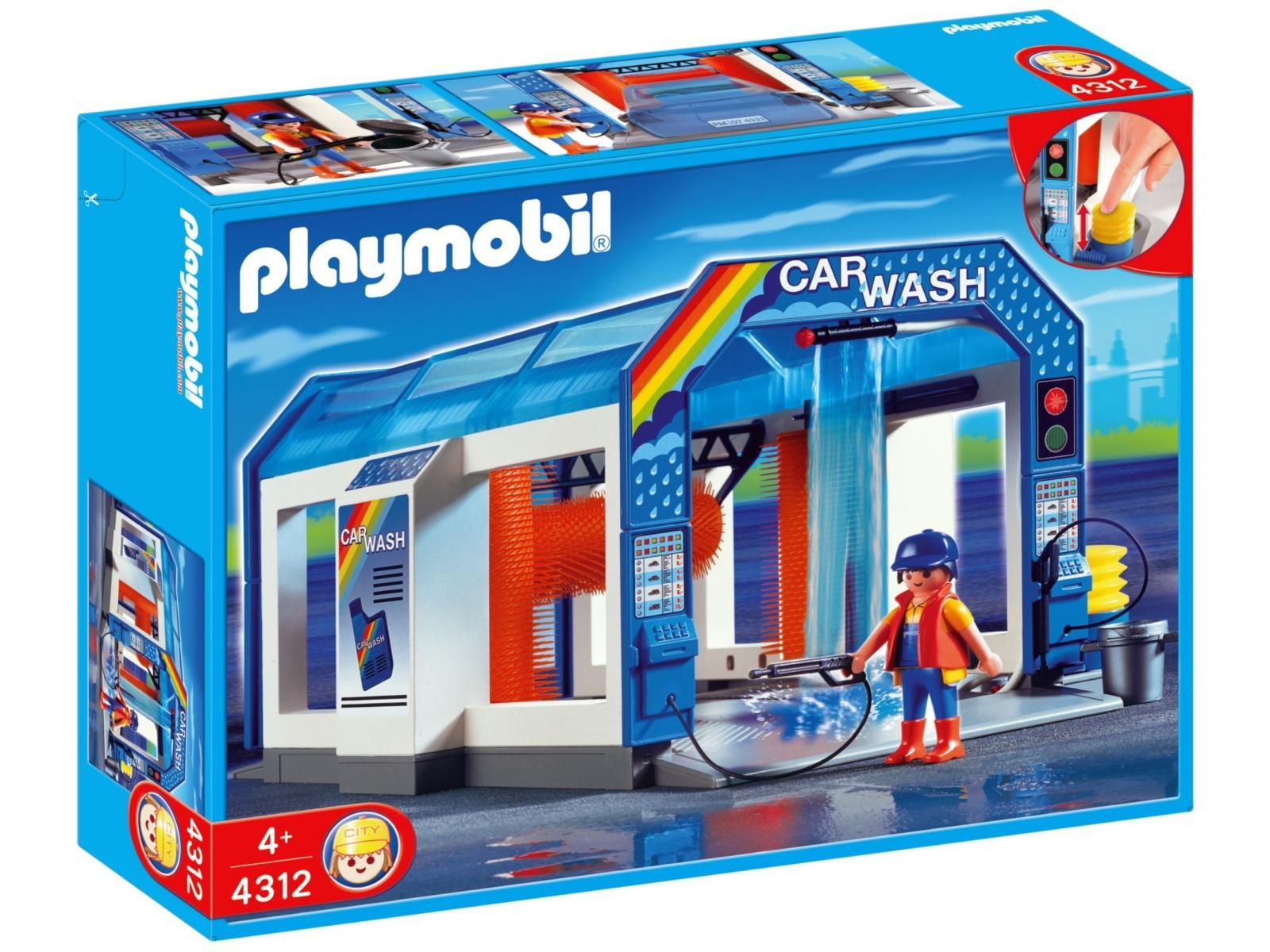playmobil station de lavage voitures 4312. Black Bedroom Furniture Sets. Home Design Ideas