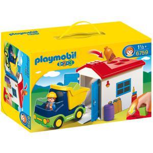 Playmobil - 6759 - Camion avec garage (41147)
