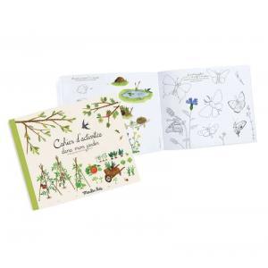 Moulin Roty - 712601 - Cahier d'activités Dans mon jardin Le jardin du Moulin - 36 pages (411326)