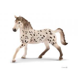 Schleich - bu021 - Figurines de chevaux et accessoires (Etalon, Jumentn, Selle de saut d'obstacles + harnais) (411922)