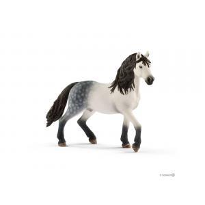 Schleich - bu024 - Figurines de chevaux Etalon et accessoires (couverture, Selle de pratique amateur + bride) (411928)