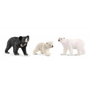 Schleich - bu039 - Figurines Animaux sauvages ours polaire (411958)