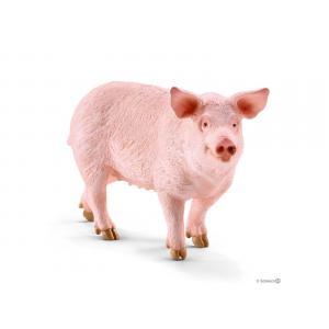 Schleich - bu045 - Figurines Animaux de la ferme Cochons et Nourriture cochons (411970)