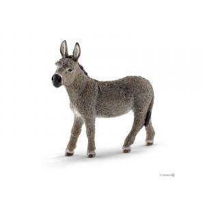 Schleich - bu046 - Figurines Animaux de la ferme (Veaux,Mouton, Âne) (411972)