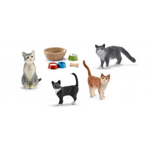 Schleich - bu049 - Figurines Animaux domestiques chats (411978)