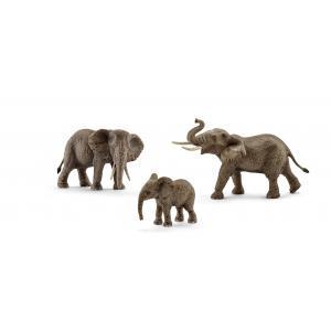 Schleich - bu052 - Figurines Animaux sauvages Éléphanteaux d'Afrique (411984)