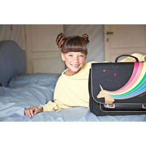 Jeune Premier - Itx19129 - Cartable best of grand modèle - Unicorn Gold  41 cm x 20 cm x 31 cm (412002)