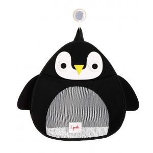 3 Sprouts - 107-008-006 - Rangement filet pour le bain Pingouin (412088)