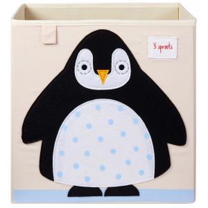 3 Sprouts - 107-002-014 - Cubes de rangement Pingouin (412102)
