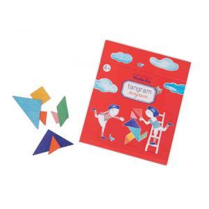 Moulin Roty - 713143 - Tangram magnétique Aujourd'hui c'est mercredi (emb/10) (412198)