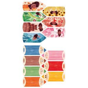 Londji - PZ006U - Puzzle - I love my colors (412410)