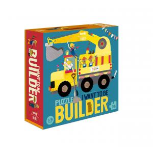 Londji - PZ368U - I want to be... Builder - Puzzle (412418)