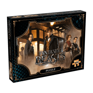 Winning moves - 033091 - Puzzle les animaux fantastiques 500 pieces (412518)